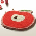 [Red Apple] Kids Room Rugs (20.9 by 22 inches)