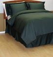 8PC Black woven Dots Down Alternative Bed in a Bag(Queen Size)