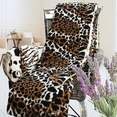 [Animal Leopard] Micro Mink Throw Blanket (50 by 70 inches)