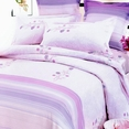 [Paris Spring] 100% Cotton 7PC Bed In A Bag (Queen Size)
