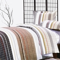 [Classic Elegance] 100% Cotton 3PC Duvet Cover Set (Twin Size)