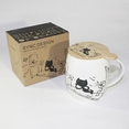 [Kitty Leisure] Coffee Mug / Wood Lid (4.2 inch height)