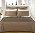 California-King 8PC Solid TAUPE 550TC Egyptian cotton Bed in a bag