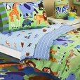 Wild Animals Toddler Bedset