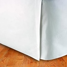 Queen Egyptian cotton Solid Bed Skirt, T300
