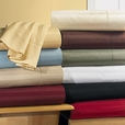 T300 CalKing /Waterbed Sateen Stripe Sheet Sets (unattached)