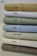 T450 CalKing Waterbed Solid Sheet Set (unattached)