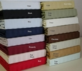 Attached King Sateen Stripe 320 Thread count Egyptian cotton