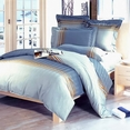 [Graceful Life] 100% Cotton 4PC Duvet Cover Set (Queen Size)