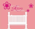 """Don't forget goodnight kisses."" Perfect for over a baby bed!"