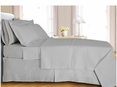 White Checkered Coverlet Set Egyptian cotton 400 Thread count Reversable(Twin Size)