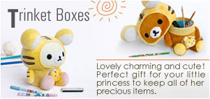 Trinket Boxes Lovely charming and cute! Perfect gift for your little princess to keep all of her precious items.