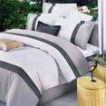 [Elegance] 100% Cotton 5PC Comforter Set (Queen Size)