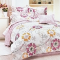 [Sun Flowers] 100% Cotton 3PC Duvet Cover Set (Twin Size)