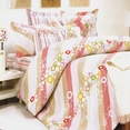 [Pink Princess] 100% Cotton 4PC Duvet Cover Set (Full Size)