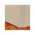 King size Microfiber Stripe Bed Skirt