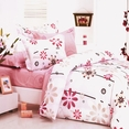 [Cherry Blossom] 100% Cotton 3PC Duvet Cover Set (Twin Size)