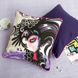 [Magician] Cotton Decorative Pillow Cushion / Floor Cushion (19.7 by 19.7 inches)