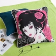 [Oriental Love] Cotton Decorative Pillow Cushion / Floor Cushion (19.7 by 19.7 inches)