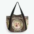 [Pedigree Dog] 100% Cotton Eco Canvas Shoulder Tote Bag / Shopper Bag / Multiple Pockets