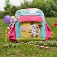 [Hello Dog] Embroidered Applique Kids School Backpack / Outdoor Backpack (7.9*8.7*2.4)