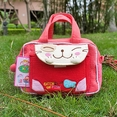 [Catch the Fish-2] Embroidered Applique Kids Fanny Waist Pack / Travel Lumbar Pack (6.7*4.3*2.6)