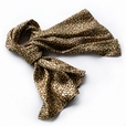 Brando Chic Leopard Grain Color Super Soft Silk Scarf/Wrap/Shawl(Large)