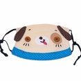 [Lovely Dog] Embroidered Applique Dust Pollen Face Mask / Flu Mask / Respirator (5.9*4.3)