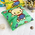 [Green Candy Bear] Decorative Pillow Cushion / Floor Cushion (15.8 by 15.8 inches)