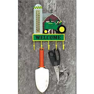 John Deere Thermometer Tool/Key Rack