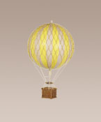 Yellow Floating The Skies Hanging Hot Air Balloon Small