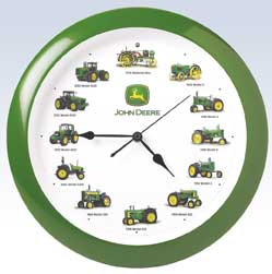 John Deere Clocks & Themometers