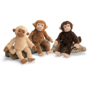 "Gund Swingsley Monkey 11"" Plush"