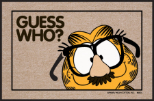 Garfield Doormat Guess Who?