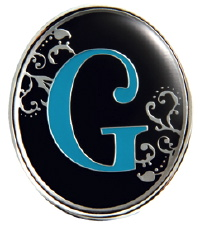 """G"" Monogrammed Key Finder - Finders Key Purse"
