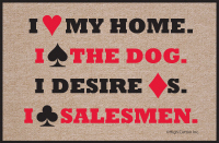 I Heart My Home Doormat