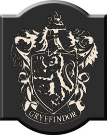 Harry Potter Wood Plaque Gryffindor