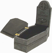 The Crow Tombstone Jewelry Box