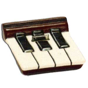 miConnection Ipod Dock Ebony & Ivory Piano