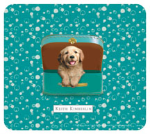 Keith Kimberlin Golden Retriever Puppy Mousepad