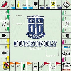 Dukeopoly Monopoly Style Board Game