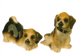 Beagle Dog Salt & Pepper Shaker Set by Big Sky