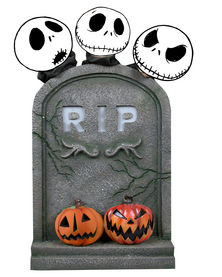 The Nightmare Before Christmas Tombstone Décor