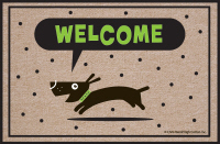 Welcome Dog Doormat