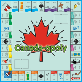 Canada-Opoly Board Game