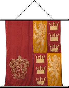 Harry Potter Gryffindor Wall Scroll