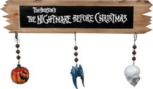 The Nightmare Before Christmas Wooden Sign