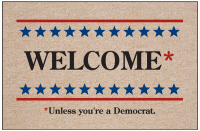 Welcome Unless You're a Democrat Doormat-Discontinued