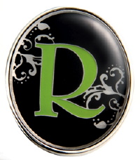 """R"" Monogrammed Key Finder - Finders Key Purse"