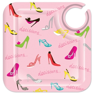 Lolita Stiletto Melamine Appetizer Plate Set